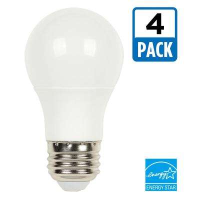 40W Equivalent Soft White Omni A15 Dimmable LED Light Bulb (4-Pack)