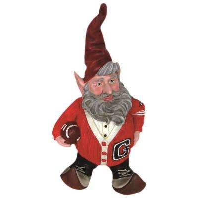 "14 in. H College Football ""Letterman"" the Gnome Home and Garden Gnome 50's tatue"