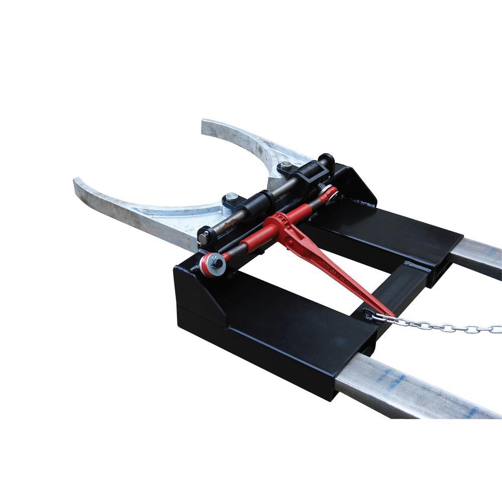 Vestil Adjustable Fork Mounted Drum Gripper by Vestil