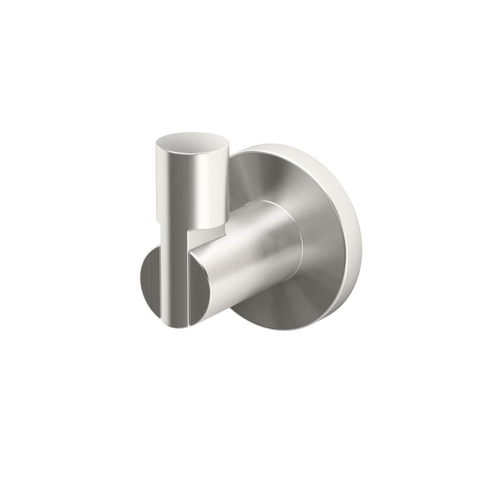 Channel Single Robe Hook in Satin Nickel