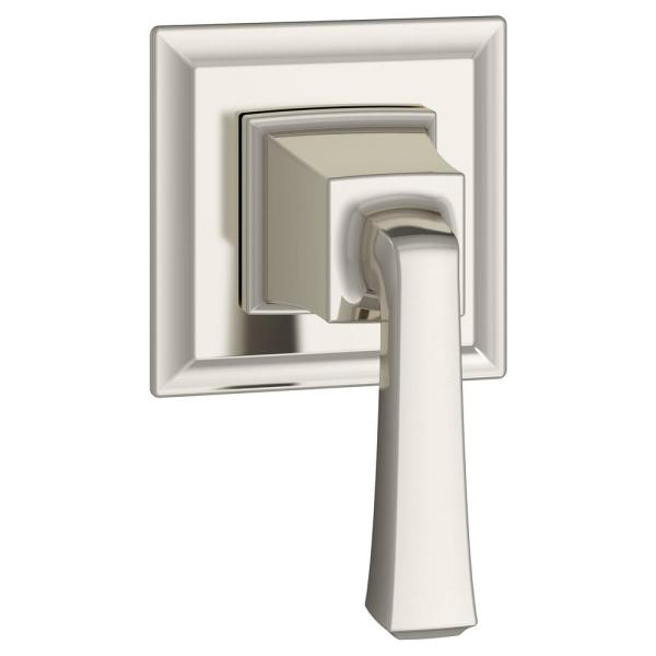 Town Square S 1-Handle Wall Mount Shower Diverter Valve Trim Kit in Polished Nickel (Valve Not Included)