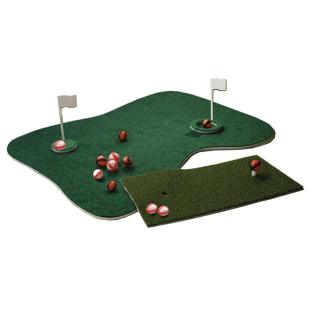 blue wave aqua golf backyard golf game nt2215 the home depot
