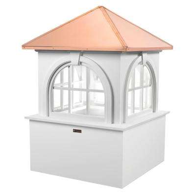 Smithsonian Arlington 60 in. x 88 in. Vinyl Cupola with Copper Roof
