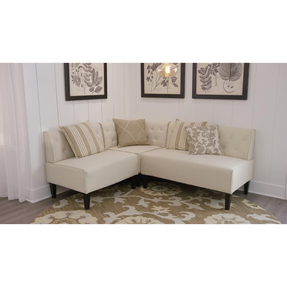 Furniture Nook Throughout Internet 304392966 Home Decorators Collection Easton Beige Linen Breakfast Nookgry01