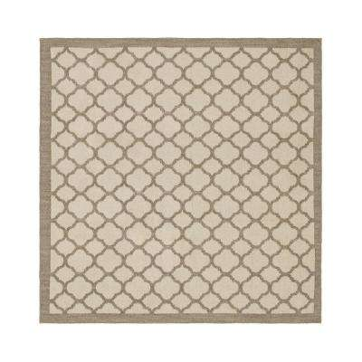 Murphy Grey 8 ft. x 8 ft. Square Area Rug
