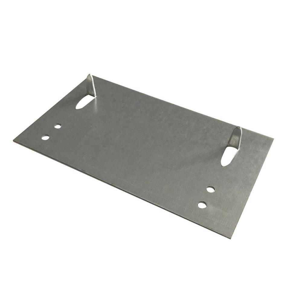 Oatey 3-1/2 in. x 6 in. 16-Gauge Stud Guard Safety Plate