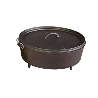 Classic Preseasoned Cast Iron 14 in. Dutch Oven