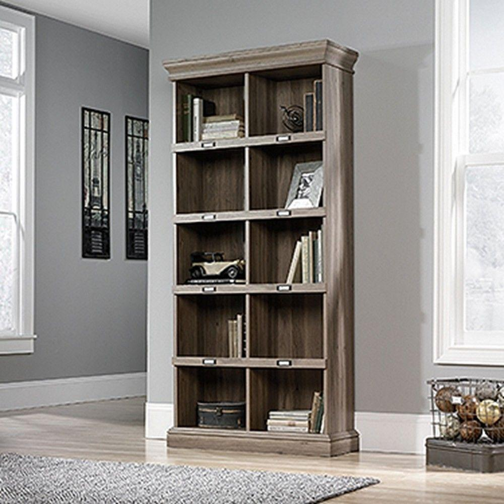 hampton black bookcase the bay wood of depot home open p bookcases