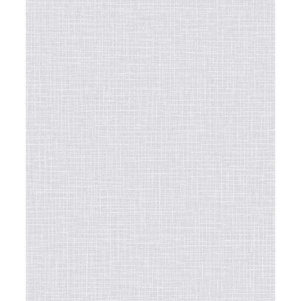 Seabrook Designs Glisten Metallic Taupe and Off-White Weave Wallpaper AW71800