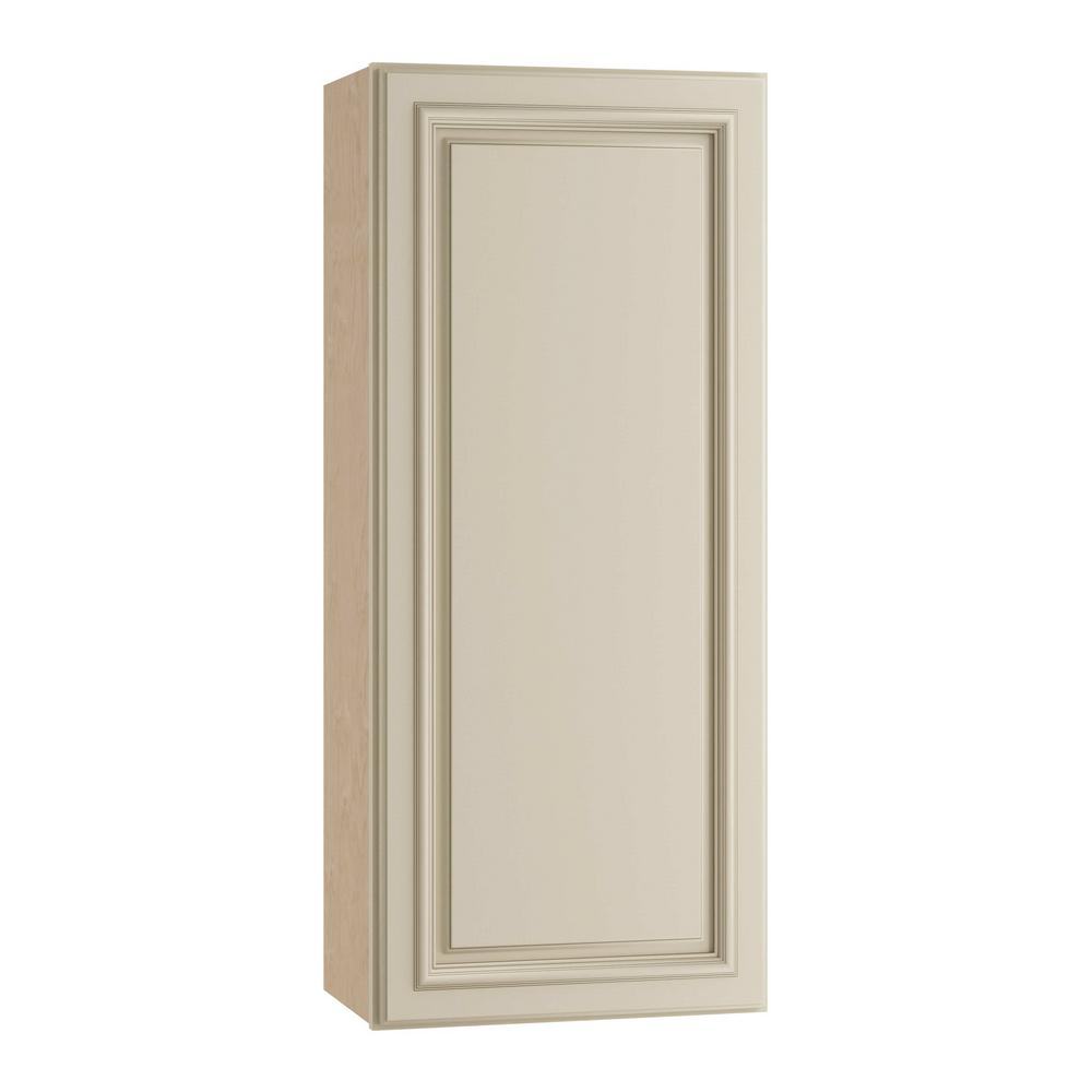 Holden Assembled 18x36x12 in. Single Door Hinge Left Wall Kitchen Cabinet