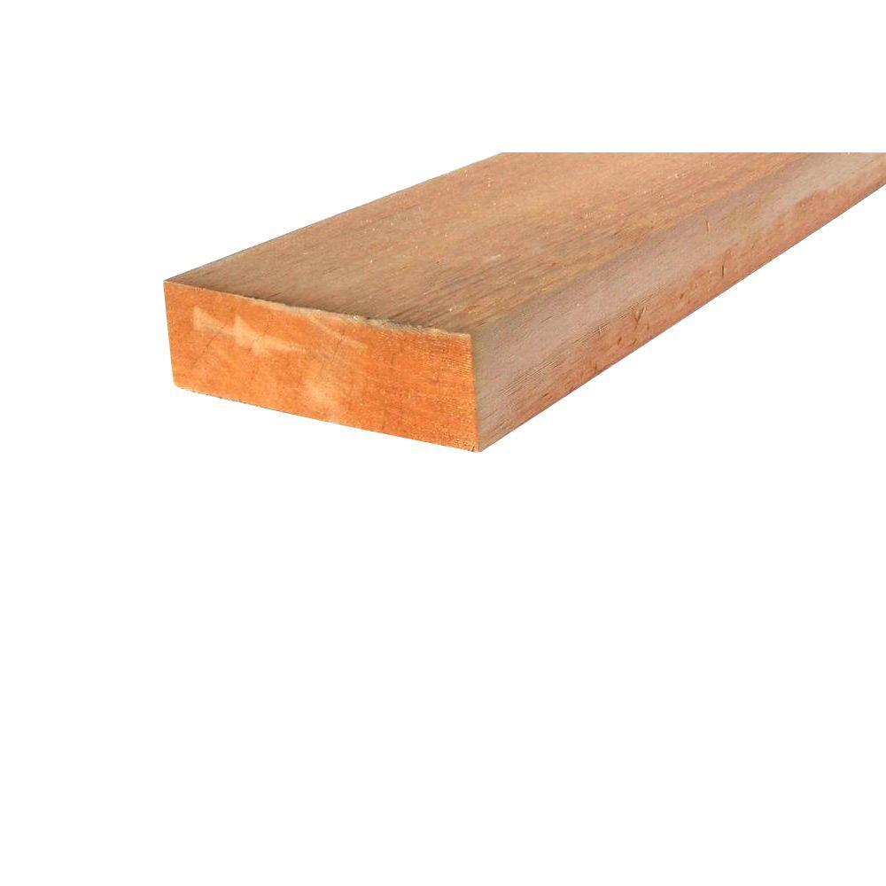 2 in  x 6 in  x 16 ft  Western Red Cedar Board