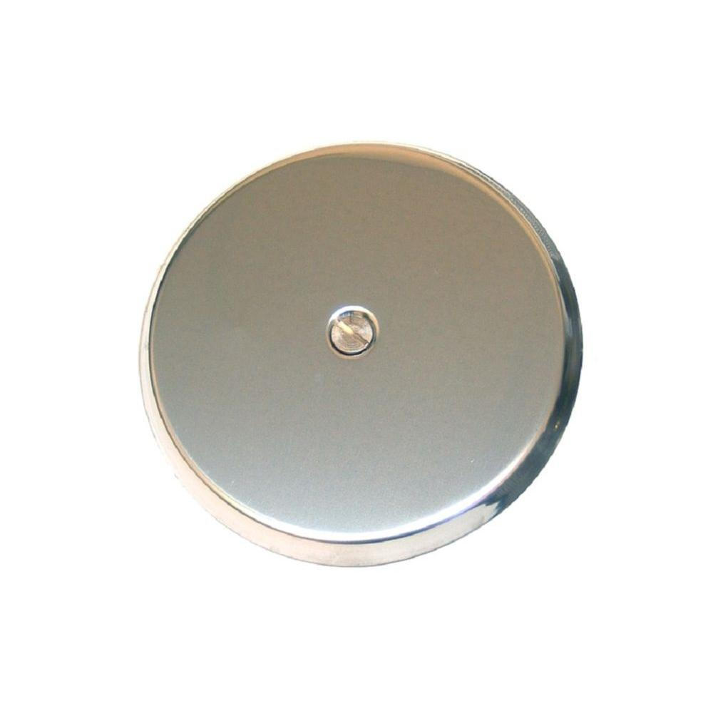 In stainless steel wall cleanout cover plate cplss