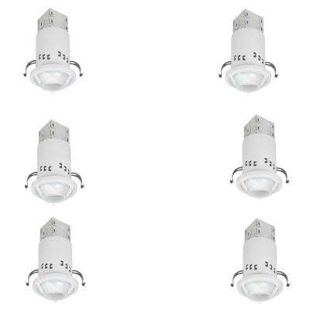 3 in. White Recessed Non-IC Remodel GU10 Lighting Kit