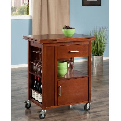 Gregory Walnut Kitchen Cart