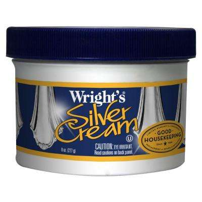 8 oz. Silver Polish Cream