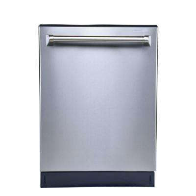 Top Control Tall Tub Dishwasher in Stainless Steel with Steel Tub Steam Wash