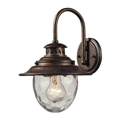Searsport 1-Light Regal Bronze Outdoor Sconce