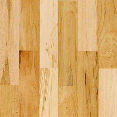 Vintage Maple Natural High Gloss 3/4 in. Thick x 4 in. W x Random Length Solid Real Hardwood Flooring (21 sq. ft./case)