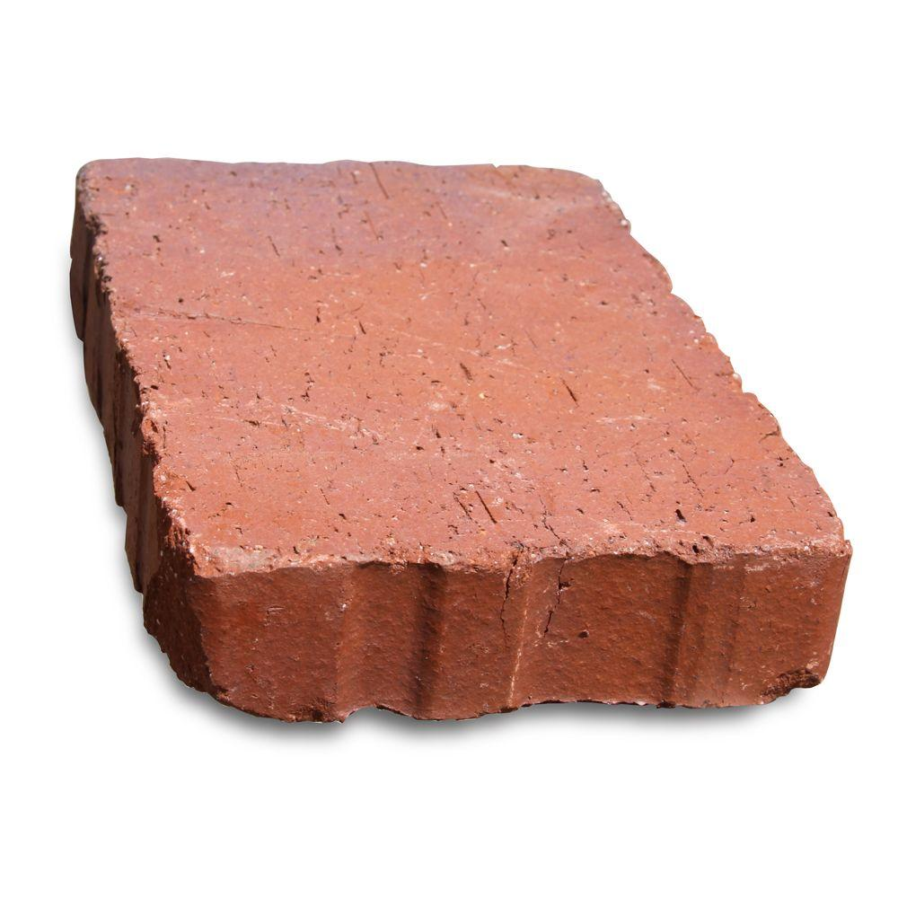 null Relic 6 in. x 1.63 in. x 9 in. Clay Red Flash Paver