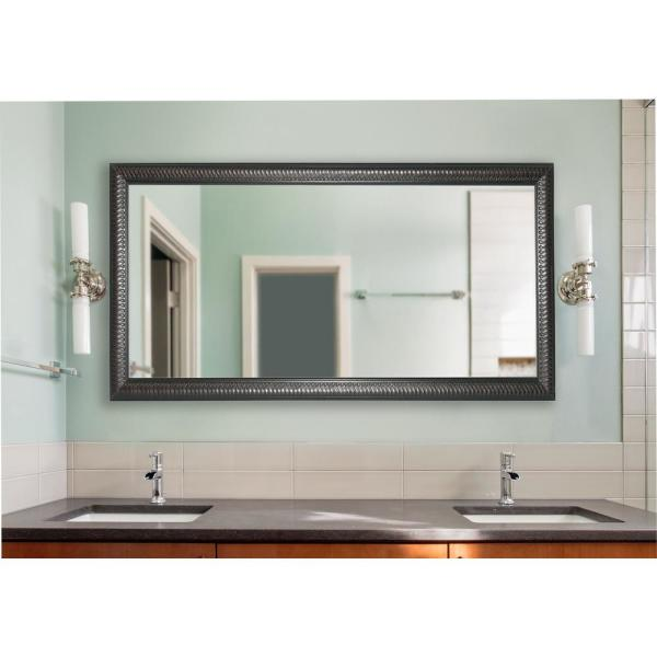 undefined 78 in. x 39 in. Rayne Curve Double Vanity Wall Mirror