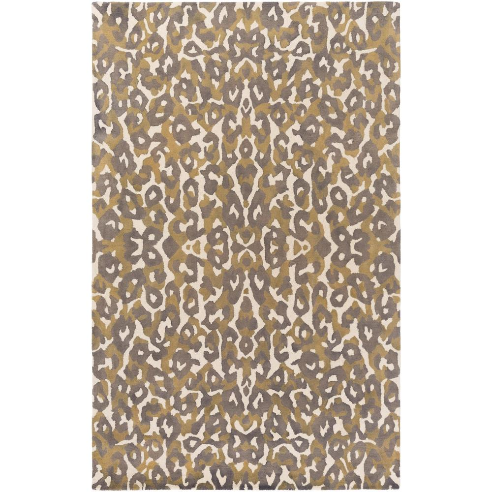 Geology Addison Tan 8 ft. x 10 ft. Indoor Area Rug