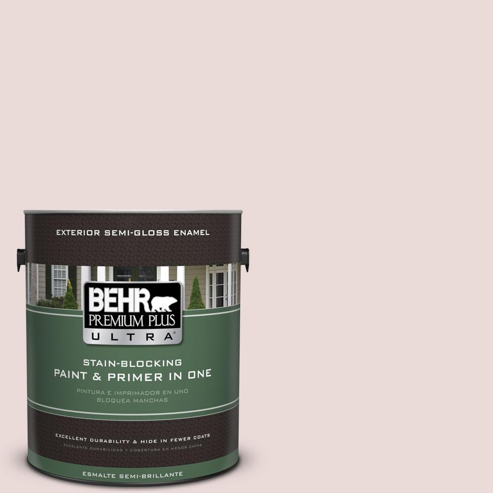 BEHR Premium Plus Ultra 1-gal. #PPU17-7 Vienna Lace Semi-Gloss Enamel Exterior Paint