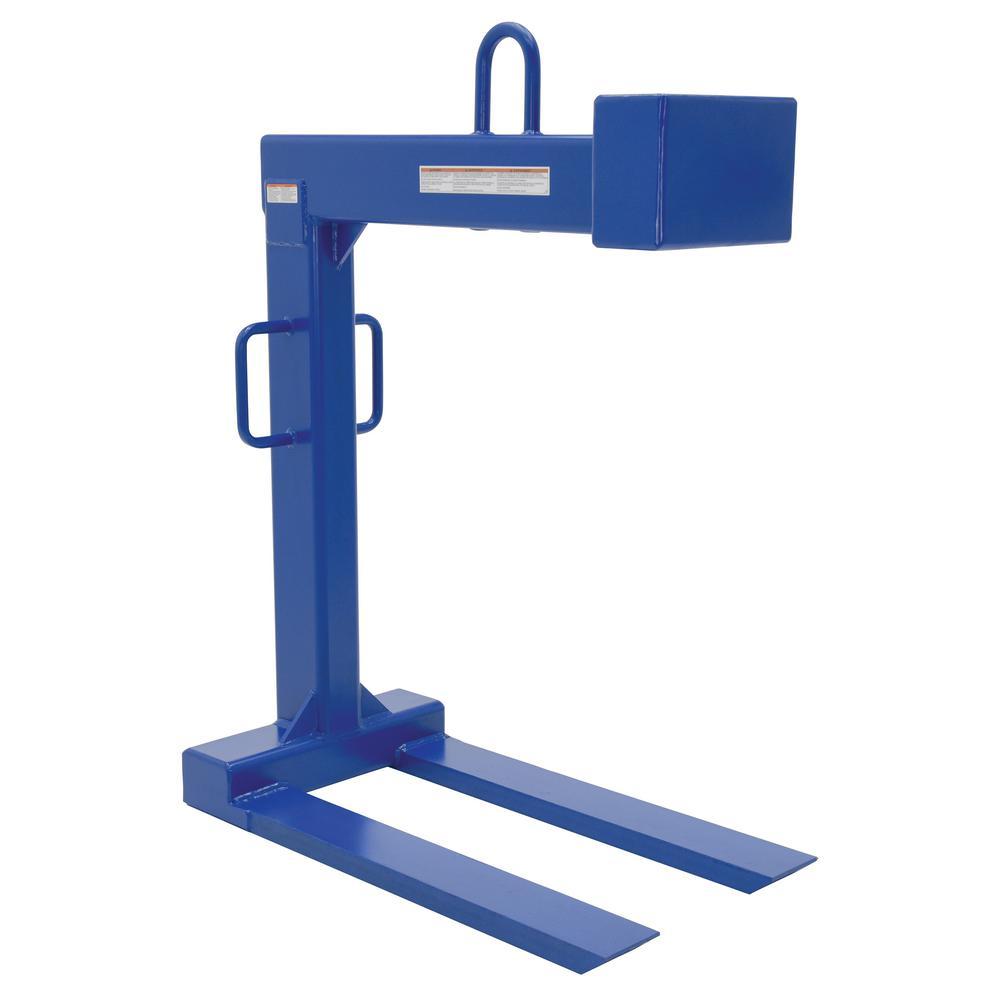 Vestil 6,000 lb. Capacity Pallet Lifter with 42 inch Forks by Vestil