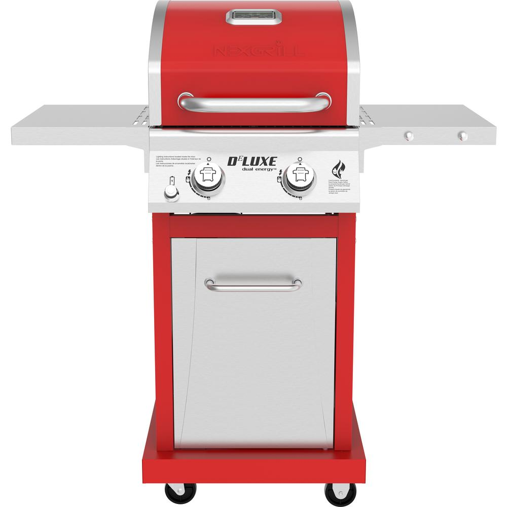 Nexgrill Deluxe 2-Burner Propane Gas Grill in Red