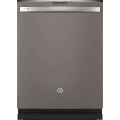 Top Control Tall Tub Dishwasher in Slate with Stainless Steel Tub and Steam Prewash, 45 dBA