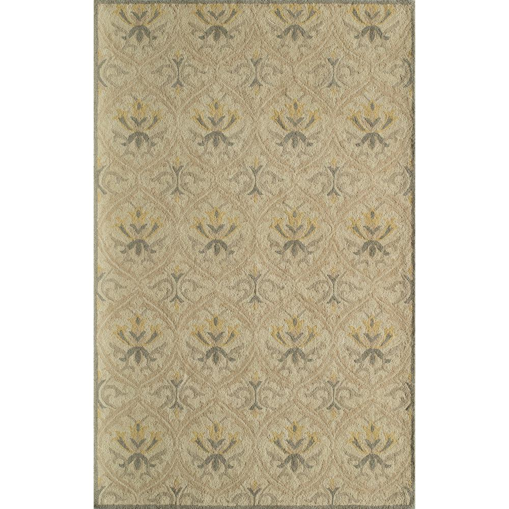 Newport Beige 9 ft. x 12 ft. Indoor Area Rug