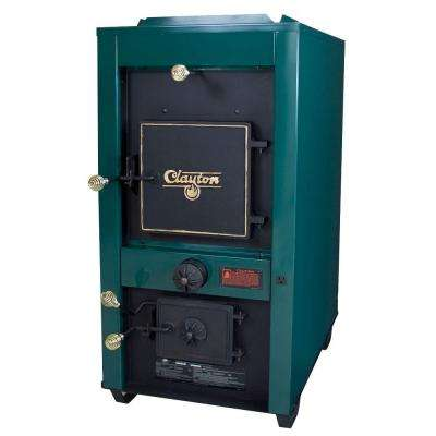 Clayton 3,600 sq. ft. Coal Only Warm Air Furnace