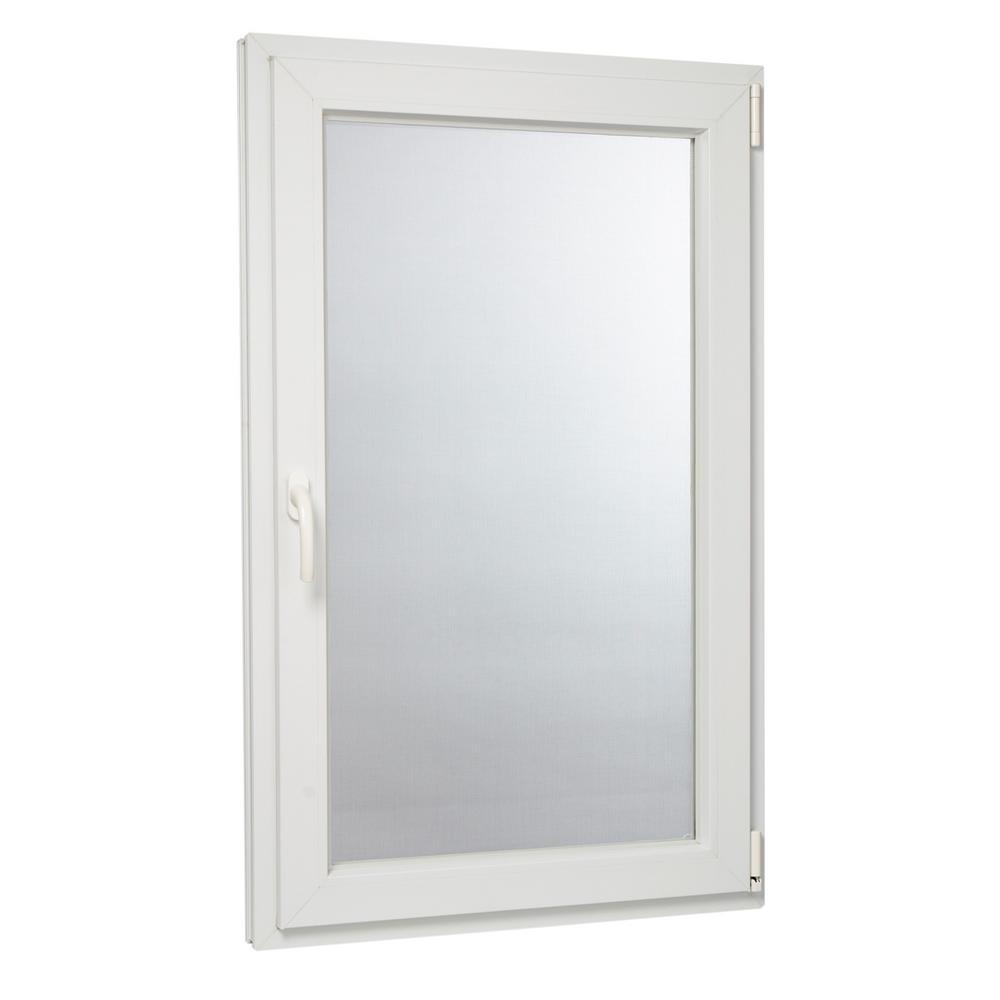 29.75 in. x 47.75 in. 88000 Series Right-Hand Inswing / Tilt Casement in Vinyl Window - White