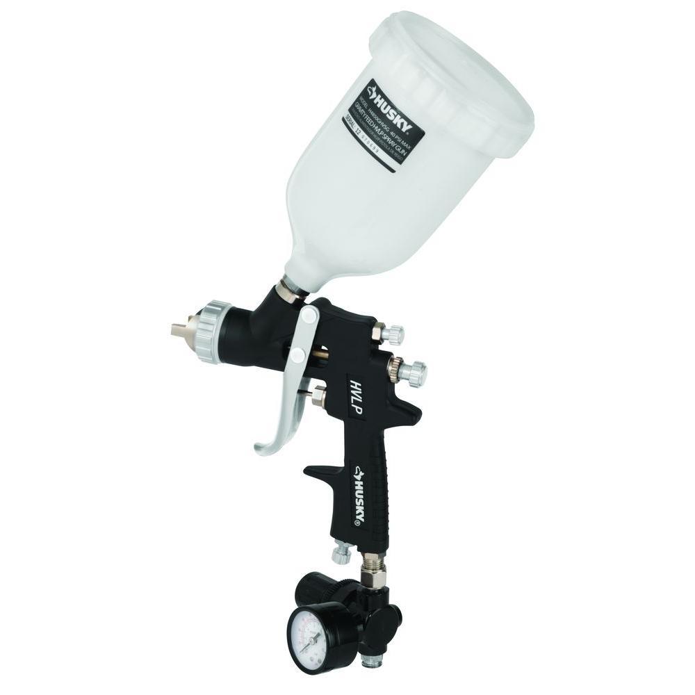 Husky Gravity Feed Composite Hvlp Spray Gun H4850ghvsg The Home Depot