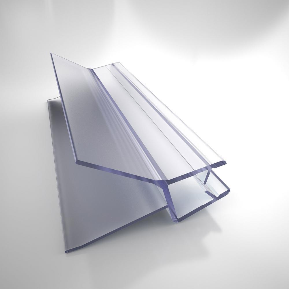 23-1/8 in. L Clear Bottom Sweep Vinyl for 3/8 in. Glass Shower Door