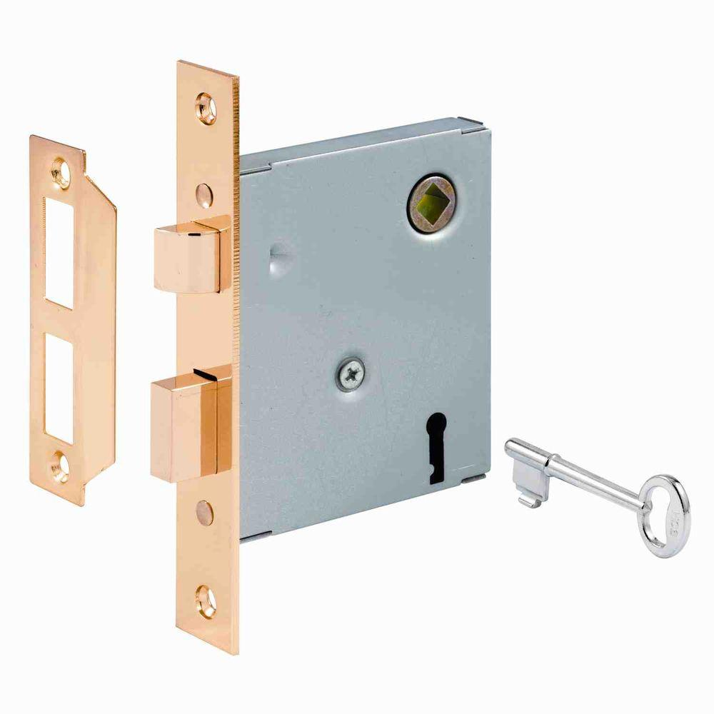 Prime-Line Steel Keyed Mortise Lock