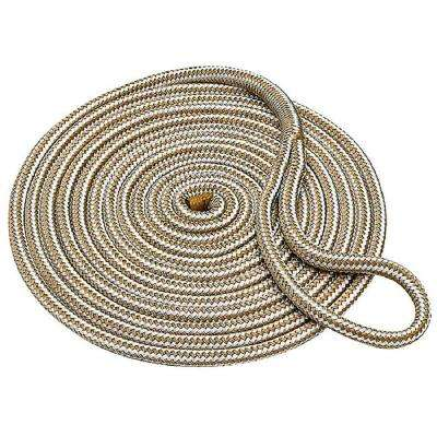 5/8 in. x 25 ft. Double Braid Nylon Dock Line