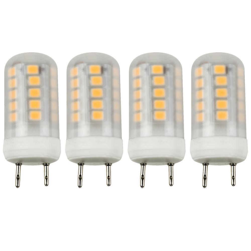 20-Watt Equivalent GY8.6 LED Light Bulb, Warm White (4-Pack)