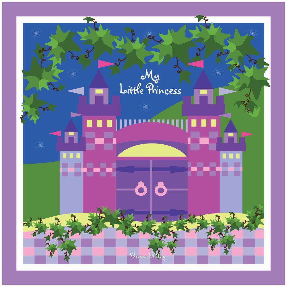 24 in. x 24 in. My Little Princess Canvas Art