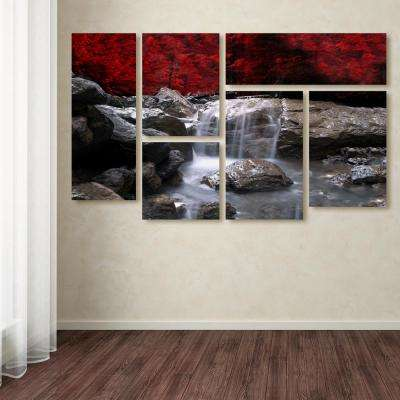 """28 in. x 47 in. """"Red Vison"""" by Philippe Sainte-Laudy Printed Canvas Wall Art"""
