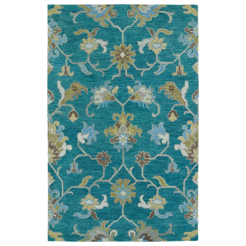 Helena Turquoise 5 ft. x 7 ft. 9 in. Area Rug