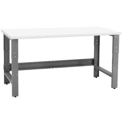 Roosevelt Series 2 ft. D x 5 ft. W Formica Plastic Laminate 1,200 lbs. Capacity Workbench