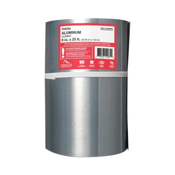 8 in. x 25 ft. Aluminum Roll Valley Flashing