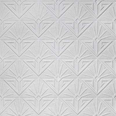 Deco Paradiso Paintable Luxury Vinyl Wallpaper Sample