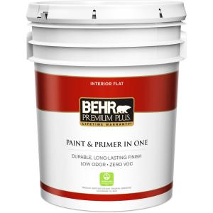 Ultra Pure White Zero VOC Flat Interior Paint