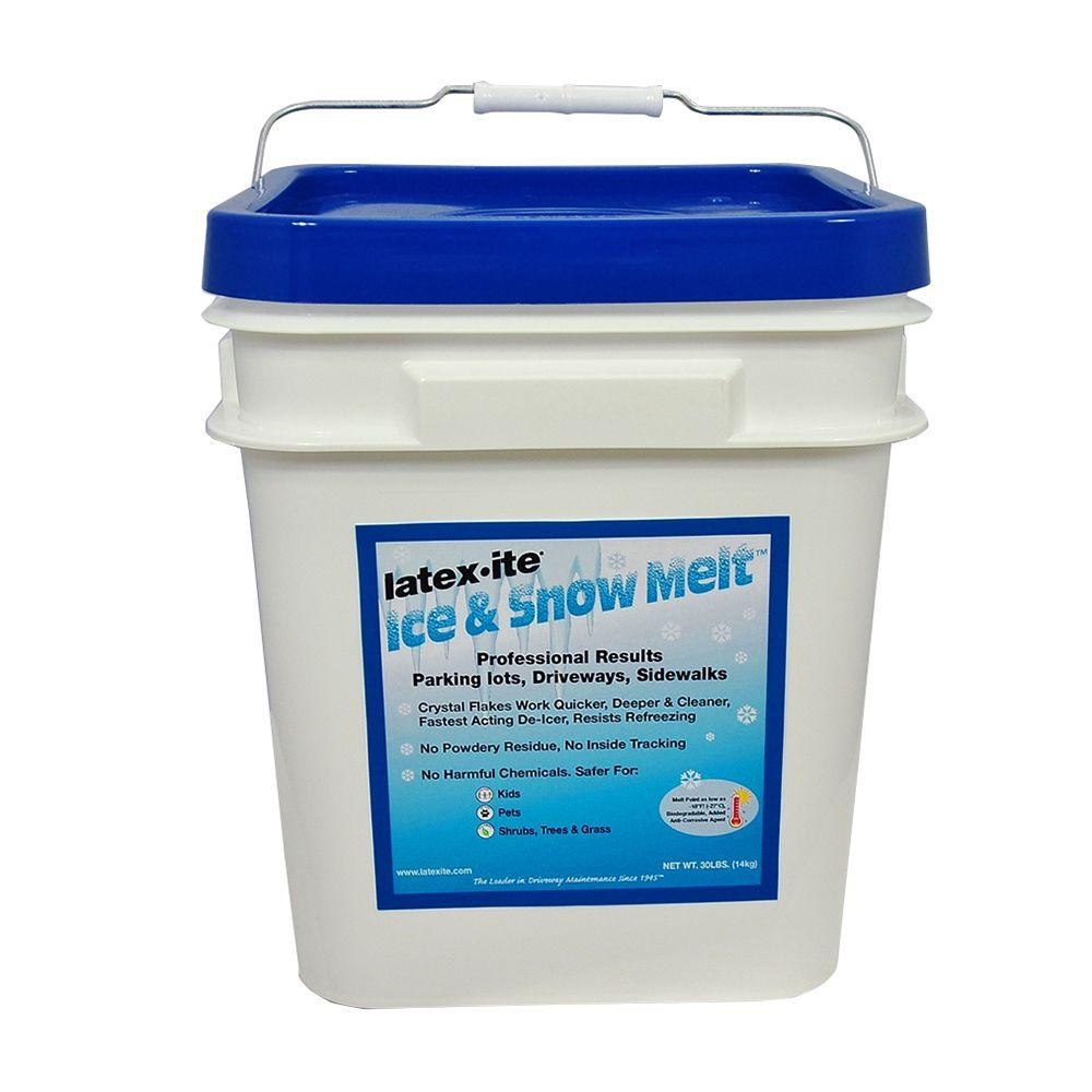 Latex-ite 30 lb. Pail Ice and Snow Melt