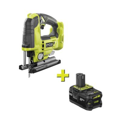 18-Volt ONE+ Cordless Brushless Jig Saw with 4.0 Ah Lithium-Ion Battery