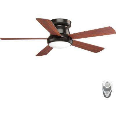 Vox 52 in. LED Antique Bronze Ceiling Fan