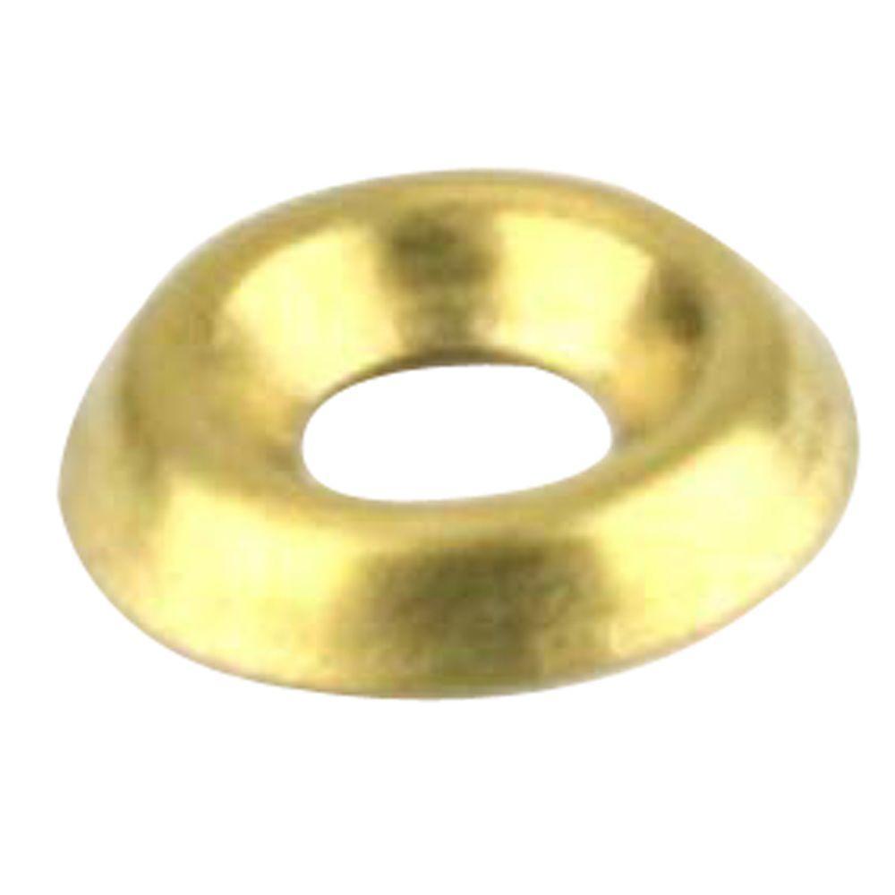 Everbilt #6 Brass Finishing Washers (5-Pack) by Everbilt