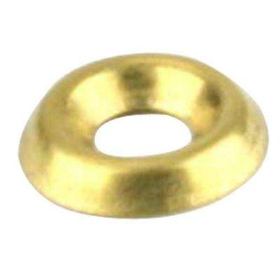 #6 Brass Finishing Washers (5-Pack)