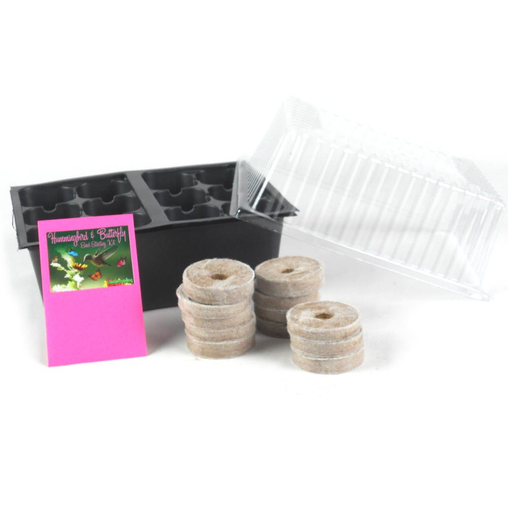 Butterfly and Hummingbird Garden Seed Starter Kit